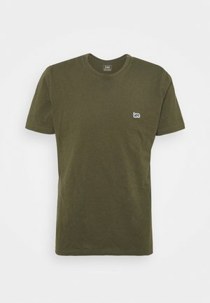 PATCH LOGO TEE - T-shirt - bas - olive green