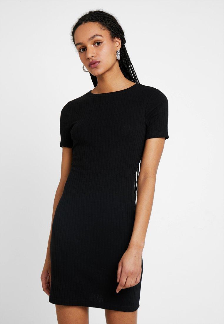 TWINTIP - Shift dress -  black