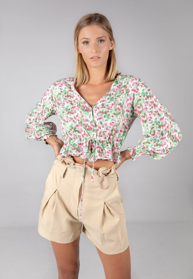 MATTINA - Blouse - neon green