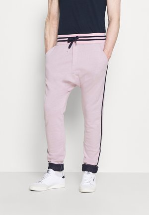 PAUL MODE - Tracksuit bottoms - stade-pink/blue/navy