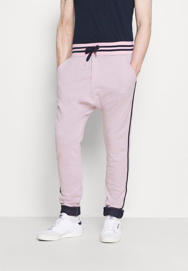 PAUL MODE - Tracksuit bottoms - stade-pink/blue/navy