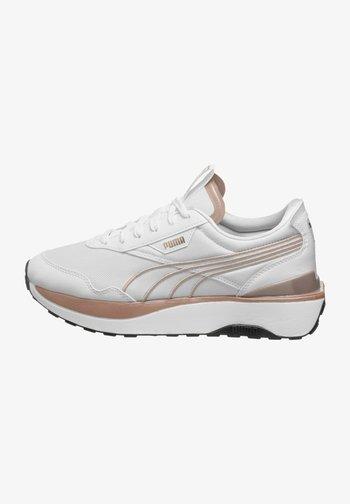 CRUISE RIDER METAL - Sneakers basse - white/rose gold