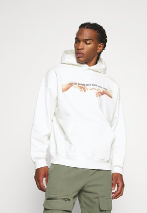ONLY HOODIE UNISEX - Hoodie - off-white