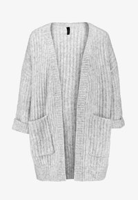 YAS - YASSUNDAY CARDIGAN - Cardigan - light grey melange - 4