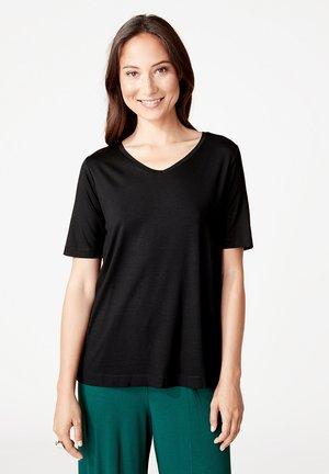 SOLANA - T-shirt basic - black