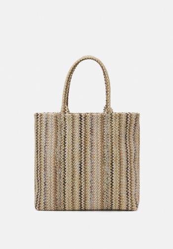 PICNIC SHOPPER - Tote bag - sand