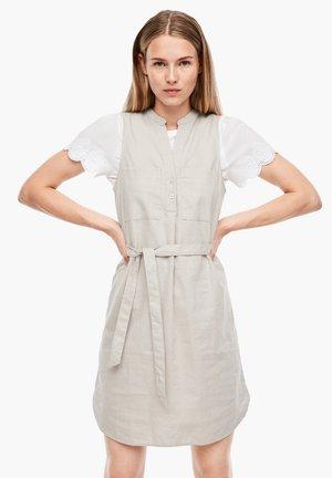 MIT GÜRTEL - Day dress - beige