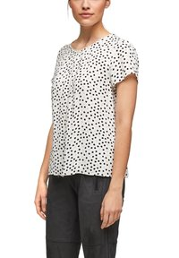 s.Oliver BLACK LABEL - Blouse - soft white floral print - 3