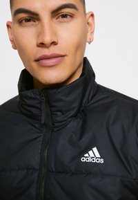 adidas Performance - 3 STRIPES INSULATED JACKET - Vinterjacka - black - 5