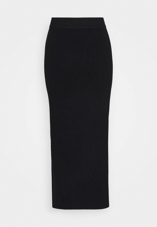 MEEKER SKIRT - Jupe crayon - black
