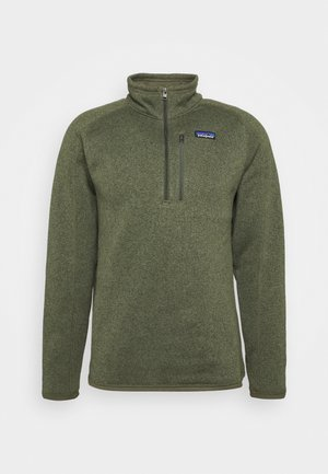 BETTER 1/4 ZIP - Fleecepullover - industrial green