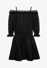 Patrizia Pepe - Košilové šaty - black - 0