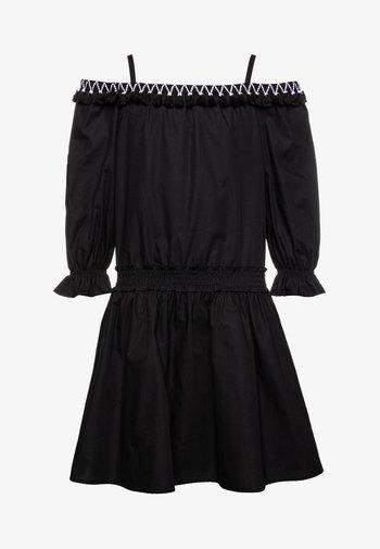 Košilové šaty - black
