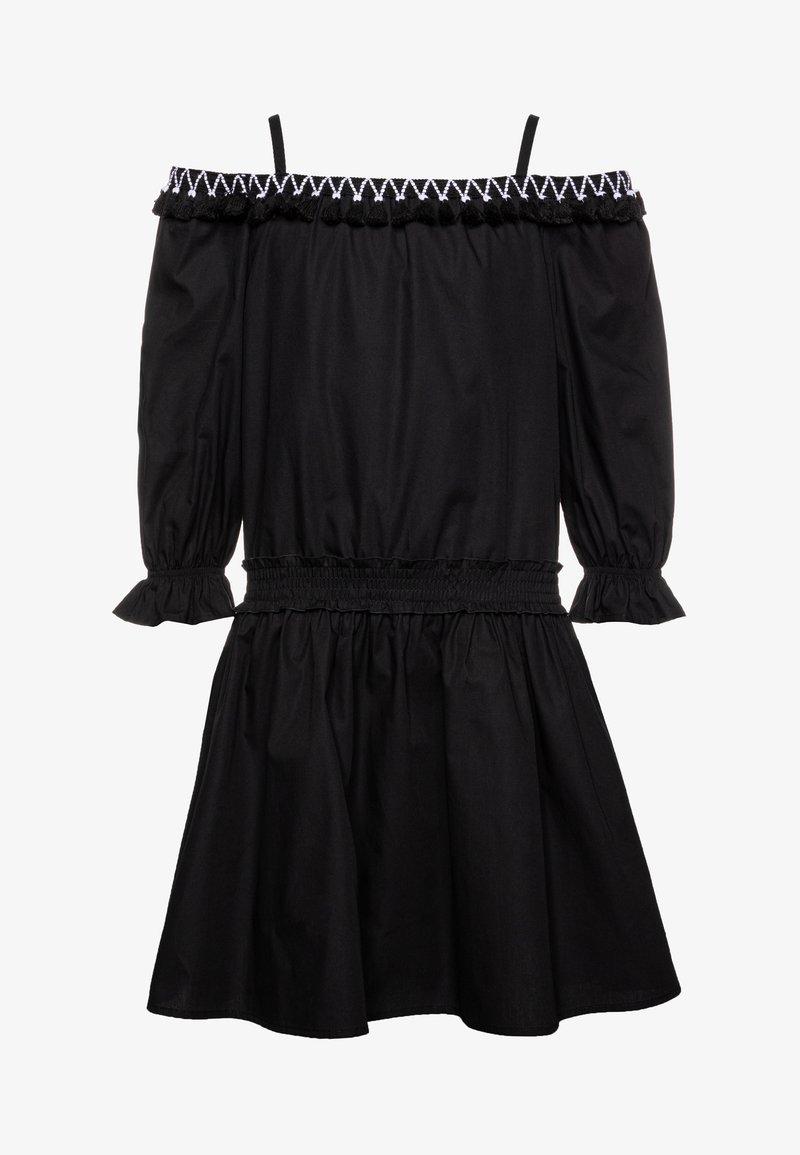 Patrizia Pepe - Košilové šaty - black