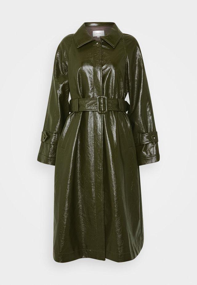 TORI PANTENT COAT - Cappotto classico - army