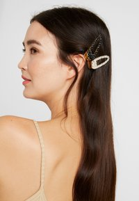 Pieces - Hair styling accessory - gold-coloured/clear-black - 1
