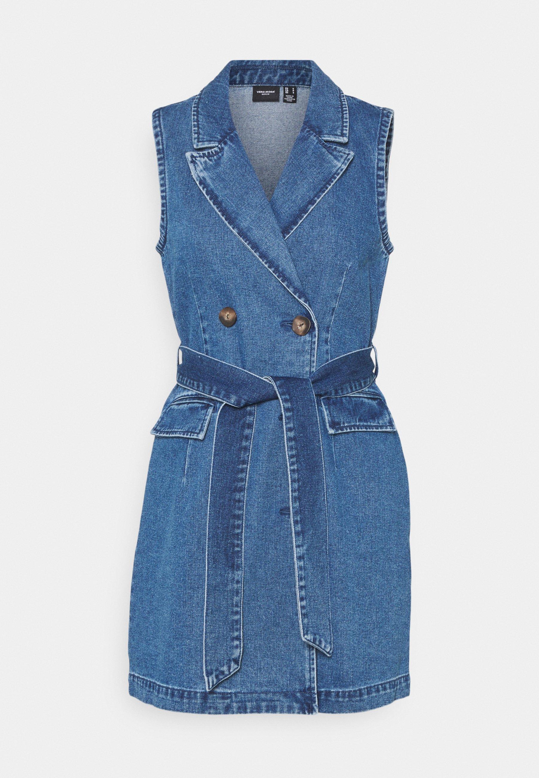 Women VMTAILOR DRESS - Denim dress