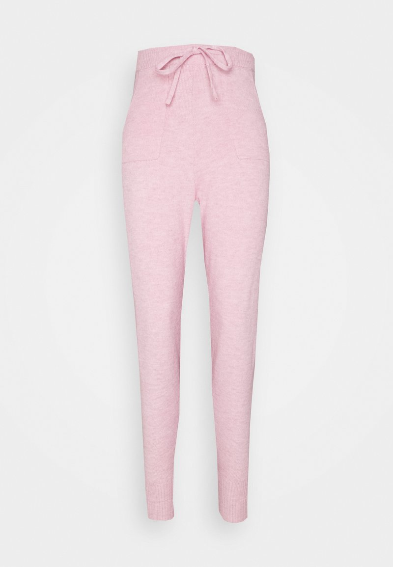 Fashion Union - EFFY JOGGER - Tracksuit bottoms - pink