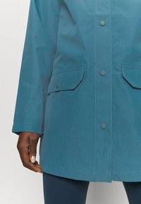 The North Face - LIBERTY WOODMONT RAIN JACKET - Regenjacke / wasserabweisende Jacke - mallard blue - 5