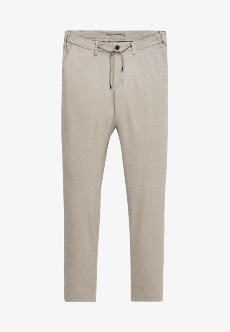 Massimo Dutti - Trousers - light grey