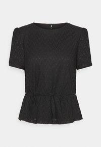 ONLTELIA  - Print T-shirt - black