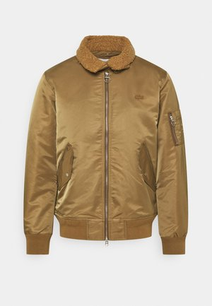 Bomber bunda - brown