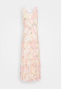 Vero Moda Tall - VMHANNAH FOIL ANKLE DRESS - Maxi dress - birch - 1