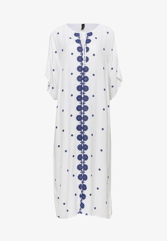 YASMARIE KAFTAN - Day dress - star white/surf the web