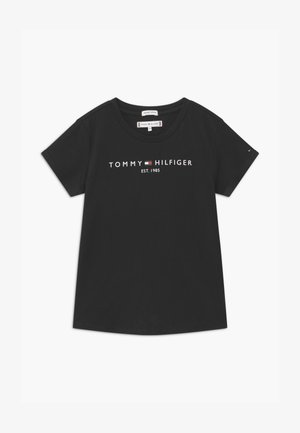 ESSENTIAL TEE  - T-shirt imprimé - black