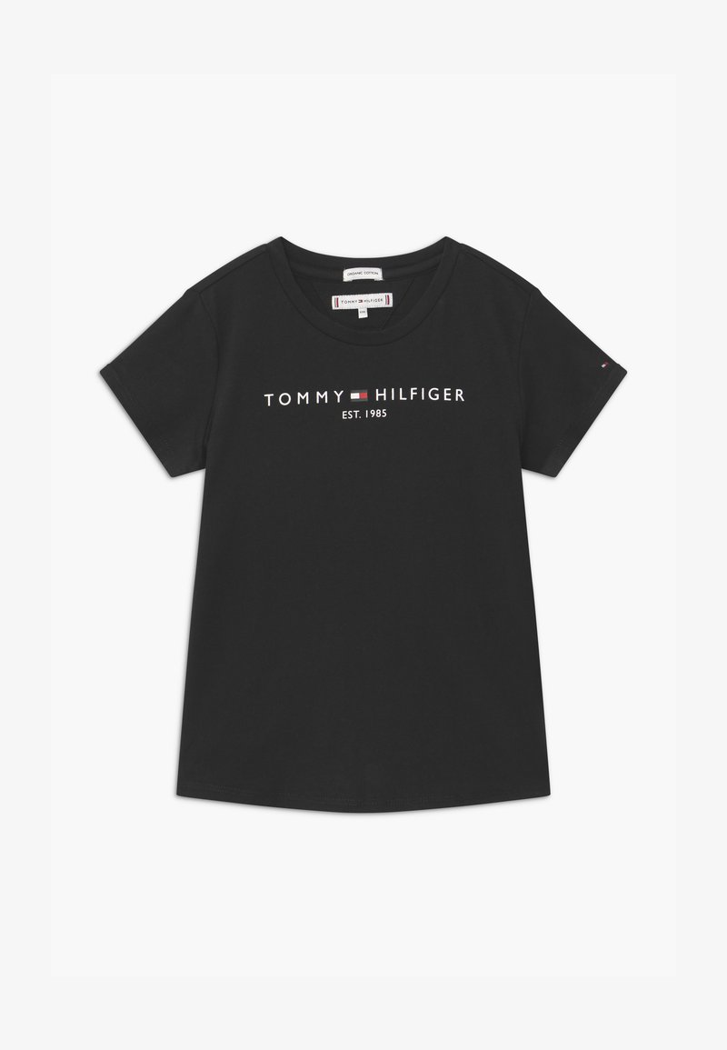 Tommy Hilfiger - ESSENTIAL TEE  - T-shirt print - black
