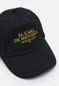 Mennace - EL CASA UNISEX - Cappellino - black - 3