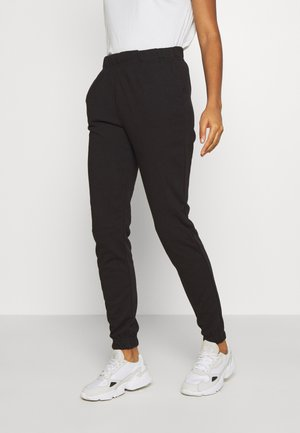 VMELLA  BASIC - Tracksuit bottoms - black