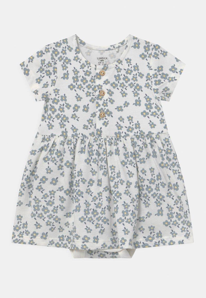 Lindex - Jersey dress - light dusty blue