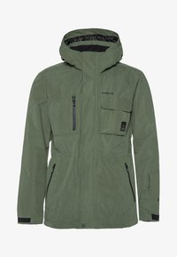 Protest - Ski jacket - mottled dark green - 4