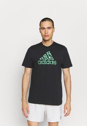 X CITY TEE - T-shirts print - black