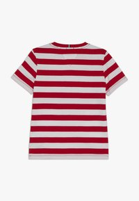 Tommy Hilfiger - CUT SEW STRIPE TEE - Print T-shirt - red - 1