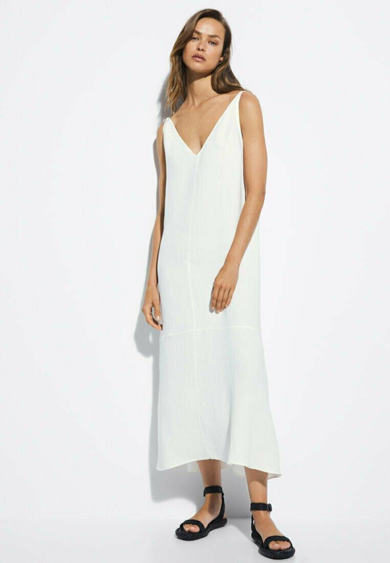 Massimo Dutti - Maxi dress - white