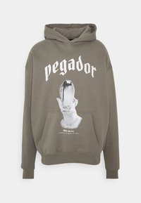 Pegador - NAJA OVERSIZED HOODIE - Mikina - washed frost gray - 0