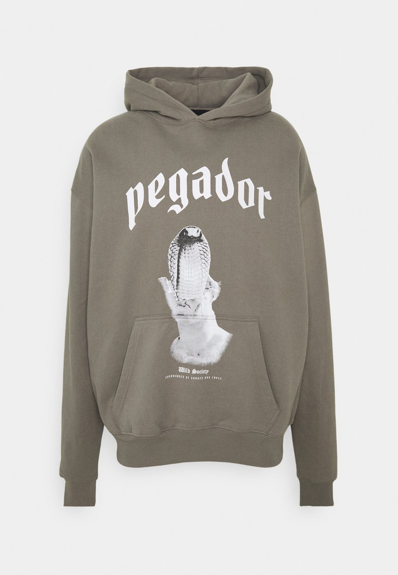 Pegador - NAJA OVERSIZED HOODIE - Mikina - washed frost gray
