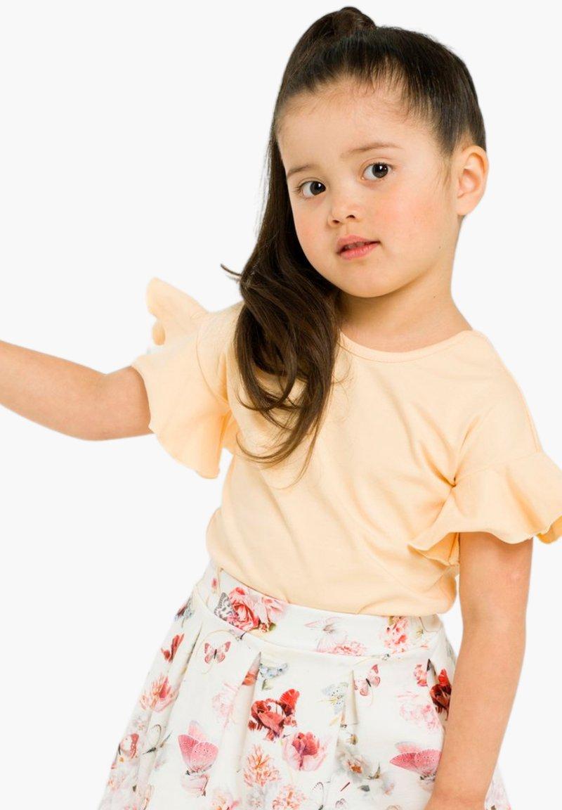 GUGGUU - Basic T-shirt - honey