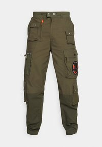 CYAN - Cargo trousers - olive