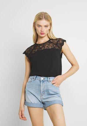 VILOVIE CAPSLEEVE - T-shirt imprimé - black