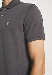 Marc O'Polo - SHORT SLEEVE BUTTON PLACKET - Polo shirt - gray - 4