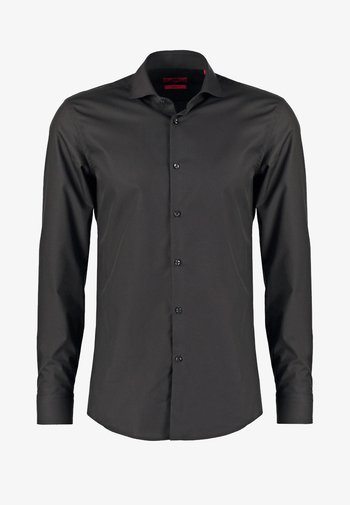 JASON SLIM FIT - Kostymskjorta - black