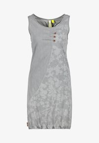 alife & kickin - Denim dress - light grey denim - 5