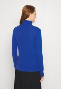Benetton - TURTLE NECK - Strickpullover - blue - 2