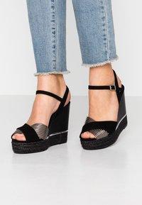 Kanna - NICOLE - High heeled sandals - black - 0