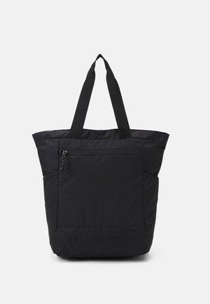 LIGHT TOTE  BAG & BACKPACK - Velká kabelka - black