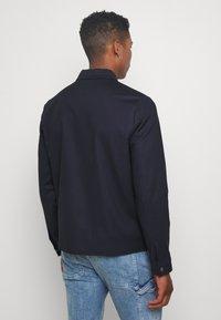 Topman - SMART SHACKET  - Summer jacket - navy - 2
