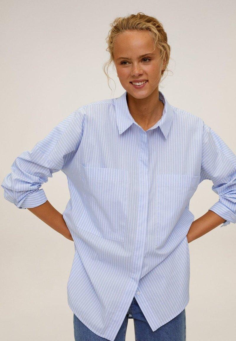 Mango - WILLY - Skjortebluser - blau